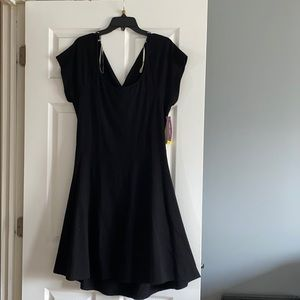 Wet seal cut out black dress